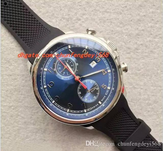 Горячая продажа розовое золото новый бренд высокое качество роскошные кварцевые часы Сапфир мужские часы Asina 2892 45 мм мужские часы