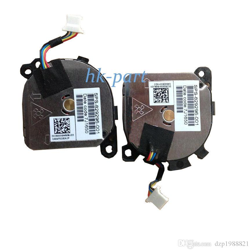 new Original cooler for HP Envy 13-D Series Laptop CPU cooling fan 829296-001 4-wire