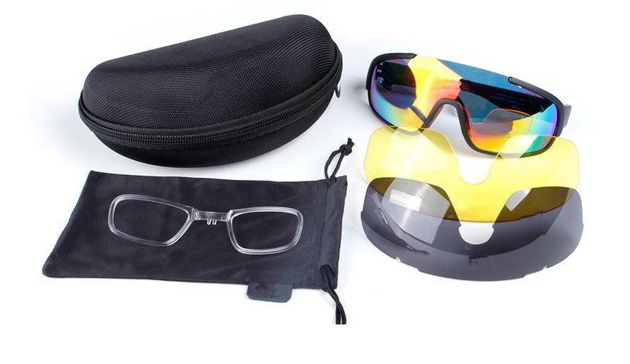 a241a24fad1 New Style Sport Gafas 3 Lens Cycling Glasses Do Blade Bike Glasses ...