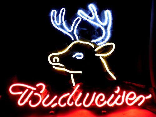 17x14 Budweiser Bud Light Ice Miller Deer Neon Light Sign Beer Bar Pub Lamp  Neon Light Beer Bar Sign Man Cave Online With $100.33/Piece On Customneonu0027s  ...