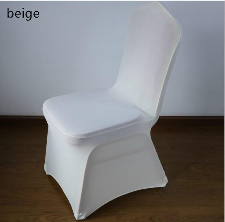 Stretch Elastic Universal Blue Spandex Wedding Chair Covers for Weddings Party Banquet Hotel Polyester Fabric