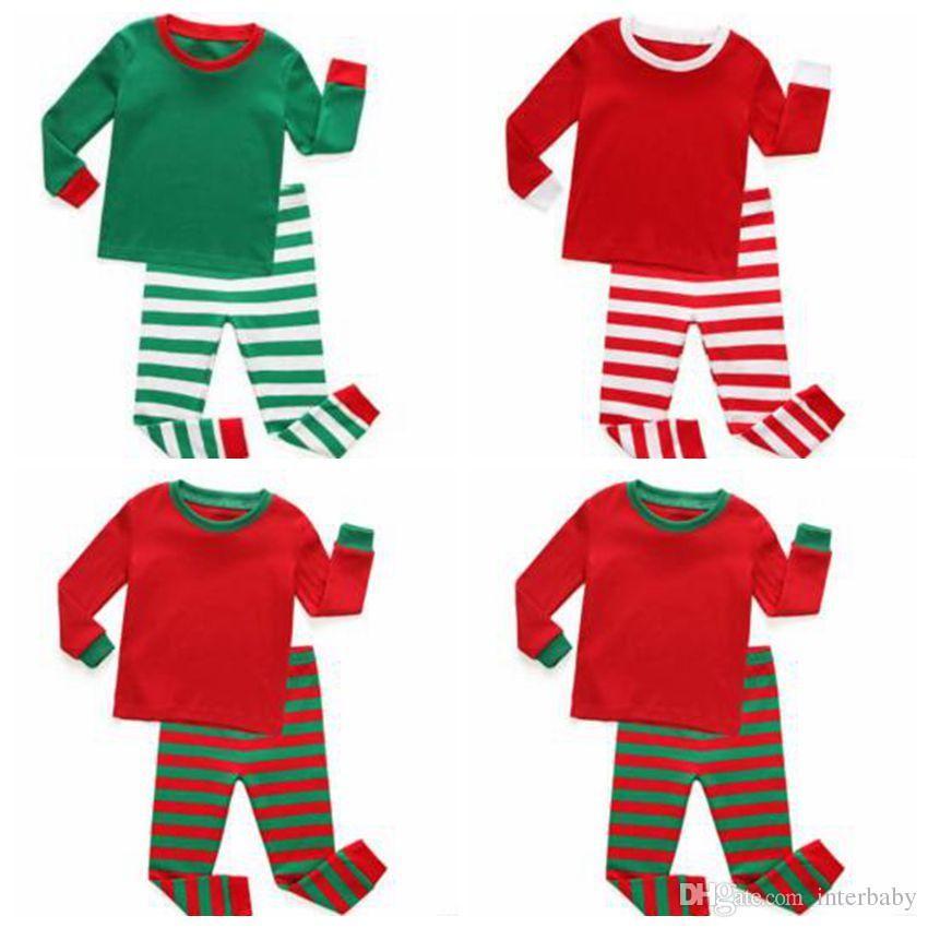 Großhandel Kinder Kleidung Baby Weihnachten Pyjamas Jungen ...