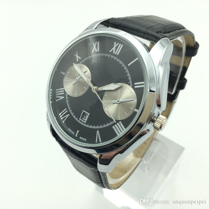 Nueva moda para hombre relojes suizos de primeras marcas movimiento de cuarzo de lujo movimientos de alta calidad 3ATM impermeable montre homme ocasional envío gratis