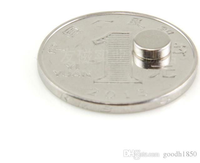 Dia6x2mm Selling hard magnet by bag, N35 magnet diameter 6mm,2mm thickness Industrial magnet,daily magnet,