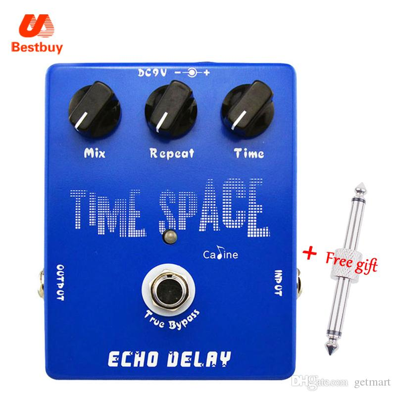 Caline CP-17 Time Space Echo Delay Digital Delay Guitar Effect Pedal 600ms Max True Bypass