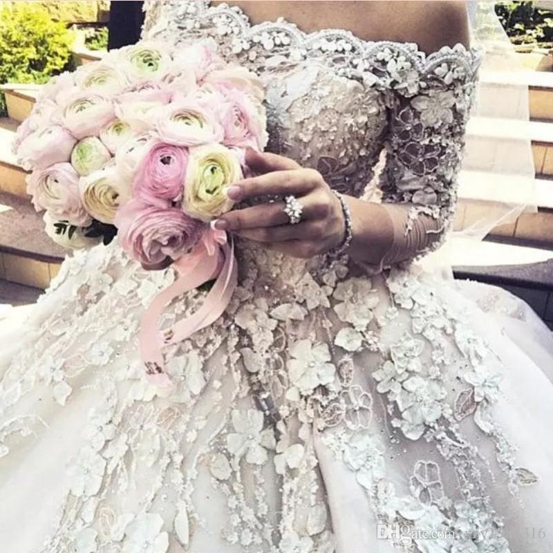Discount Fabulous Wedding Dresses Bridal Gowns Beaded Lace