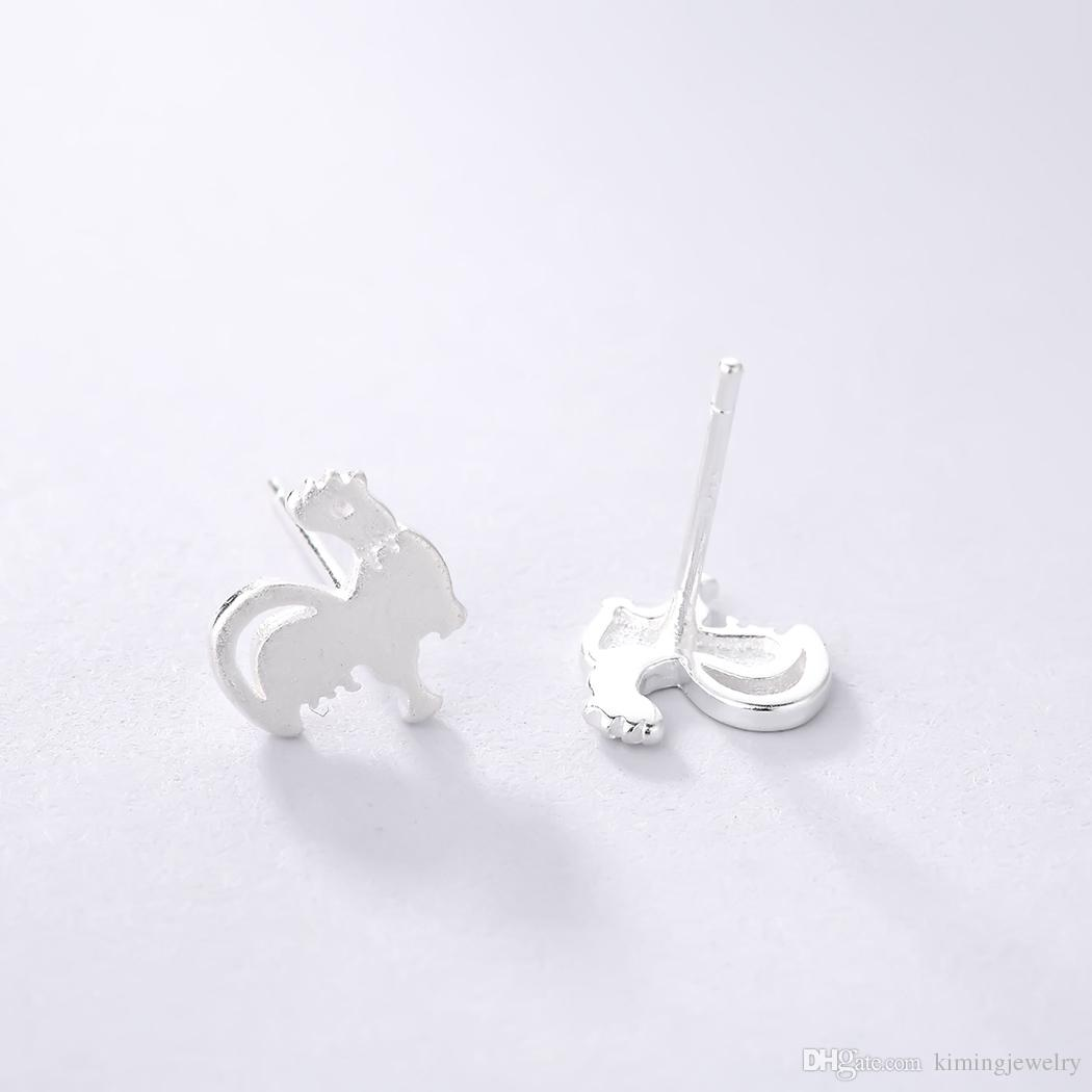 925 Sterling Silver Earring Jewelry Chicken Stud Lovely Fashion for Women Men Factory Price Drop Shipping