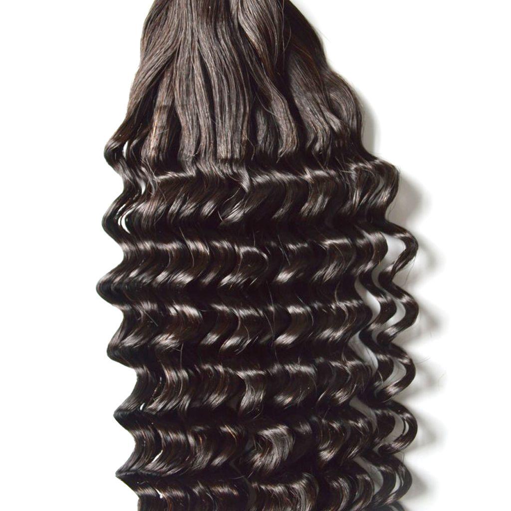 Virgin Indian Curly Human hiar extensions Bundles Bouncy Curly hair cheap Aunty Fummi Hair G-EASY