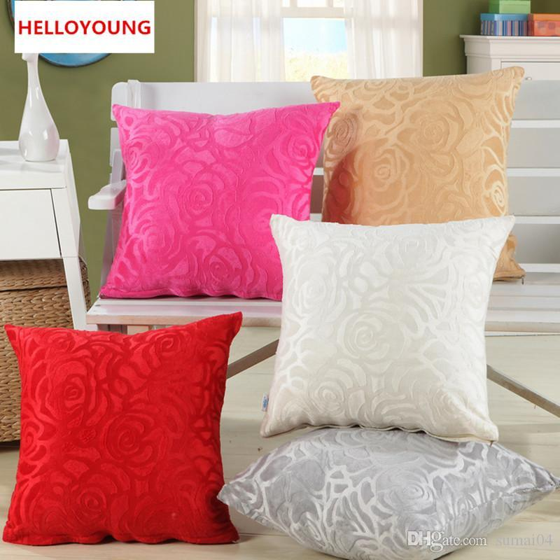 Bz40 Creative Lumbar Pillow Floral Shaped Without Inner Decorative Delectable Decorative Lumbar Pillows For Chairs