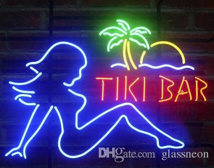 2018 new tiki bar girl glass neon sign light beer bar pub arts 2018 new tiki bar girl glass neon sign light beer bar pub arts crafts gifts lighting 22 from glassneon 8372 dhgate aloadofball Image collections