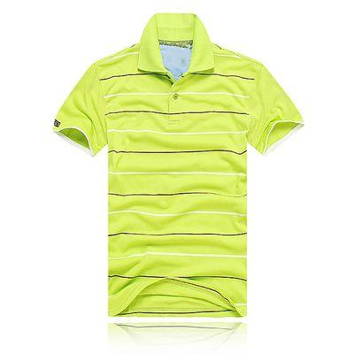 2017 NOUVEAU mode polo stripe hommes T-shirts crocodile manches courtes Tops coton polo sports manches courtes été casual polo Shippi gratuit