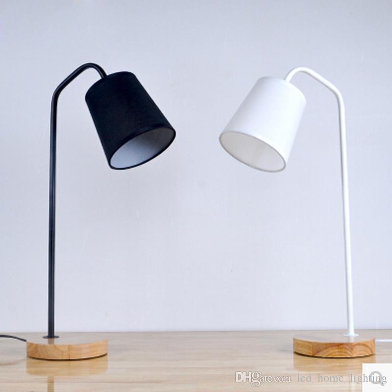 Acheter Loft Style Europeen Led Table Lampe E27 Retro Bois Fer