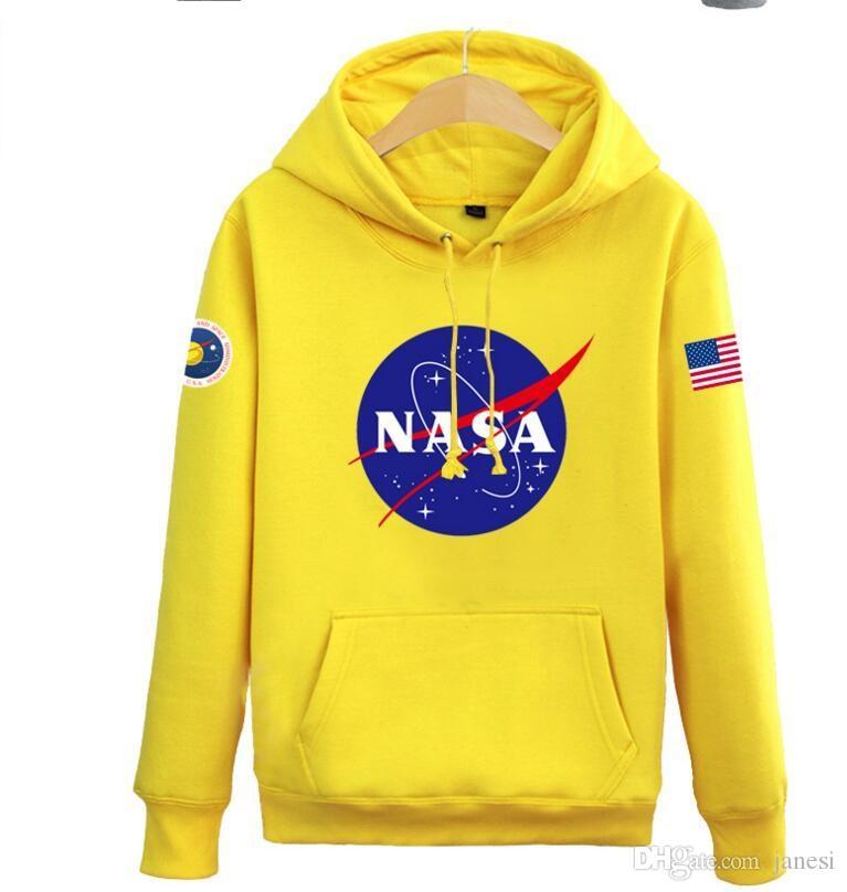 be13f37e6e8 2019 The Newest Hoodies Sweatshirts Fashion American Flag Sport Active  Coats Nasa Hoody Hoodies Sweatshirts For Men And Women Lovers From Janesi