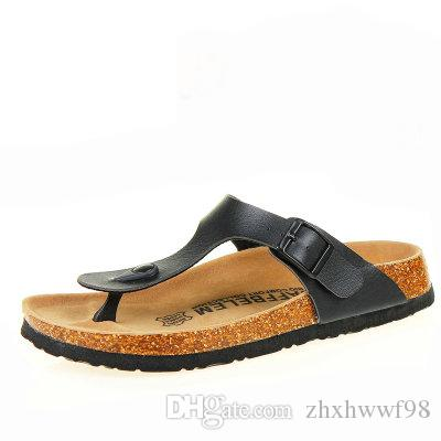 134ae0cbd New Beach Cork Flip Flops Slipper 2017 Casual Summer Women Mixed Color  Outdoors Sandals Flat Shoe Plus Size Shoes For Women Cheap Shoes From  Zhxhwwf98
