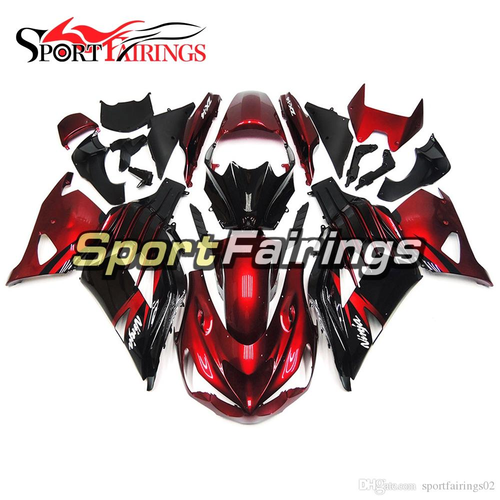 Red Black Fairings For Kawasaki ZX14R 2012-2015 Injection ABS Plastic  Motorcycle Full Fairing Kit Cowlings Body Frames Carenes Covers