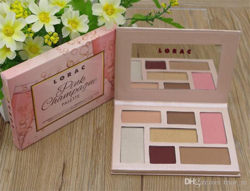 limited edition LORAC pink chapagne Eyeshadow highlighter blush bronzer Palette Make up