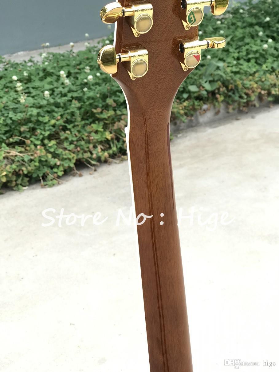 in stock nuova chitarra elettrica di alta qualità di stile con bellezza cinese nell'immagine The Story of the Stone, guitarra di vendita calda