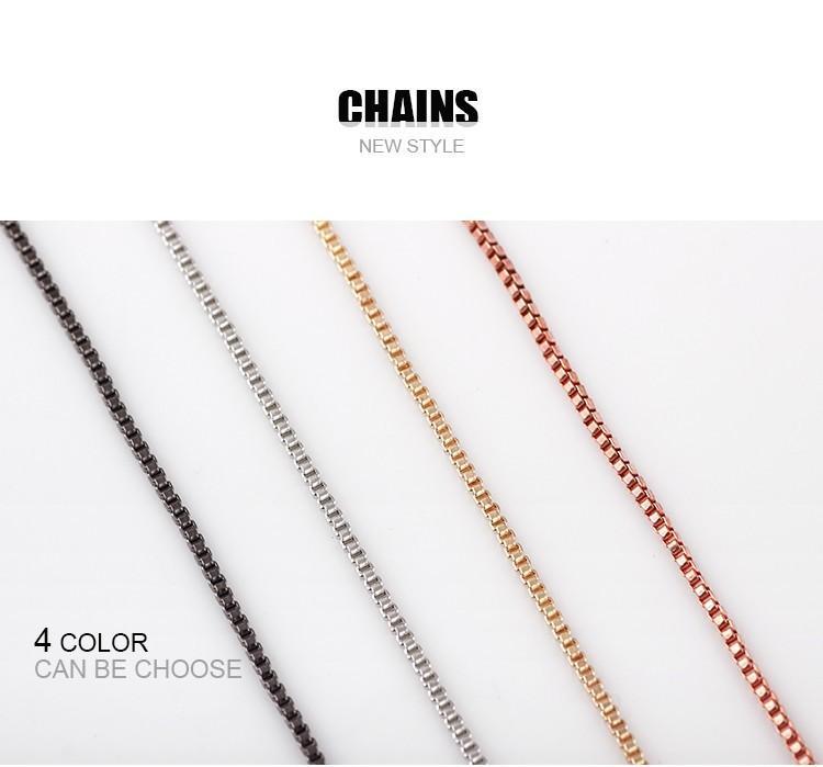 La più nuova collana della catena del contenitore di serpente di modo di i la catena del medaglione di galleggiamento con i monili delle catene del catenaccio dell'aragosta