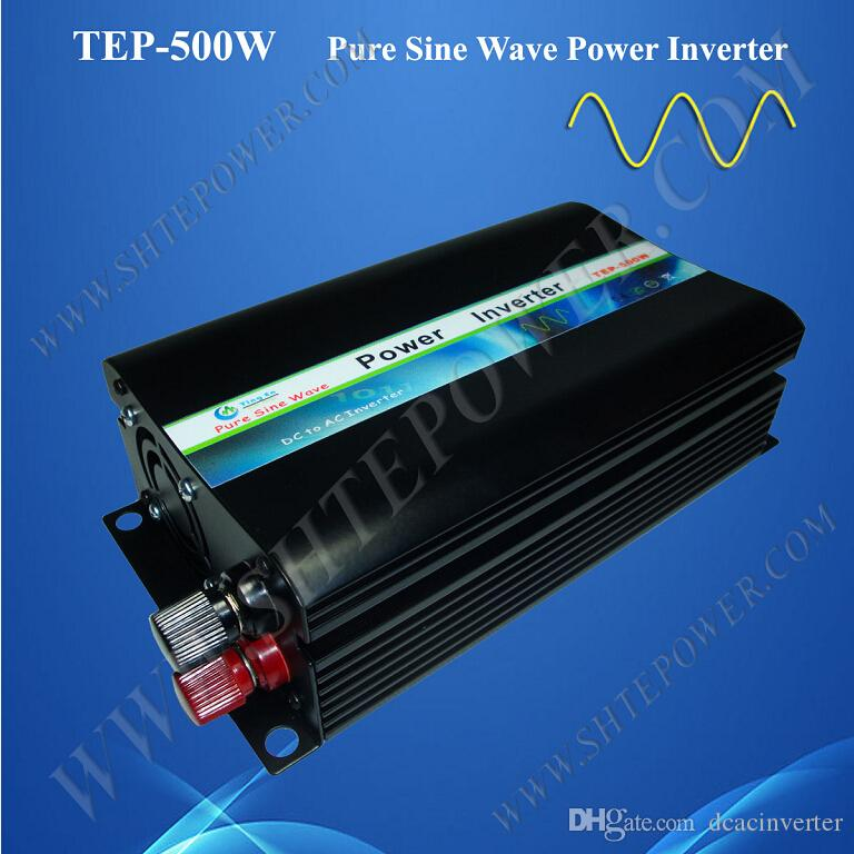 low or high voltage protection off grid pure sine wave 500w home inverter  dc 12v ac 220v