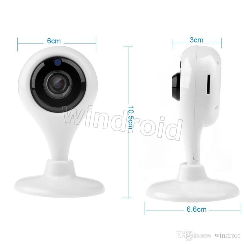 Caméra IP wifi HD 720P sécurité à la maison Moniteur de surveillance surveillance p2p 1.0mp réseau sans fil wifi caméra vision nocturne audio bidirectionnel Free DHL 5