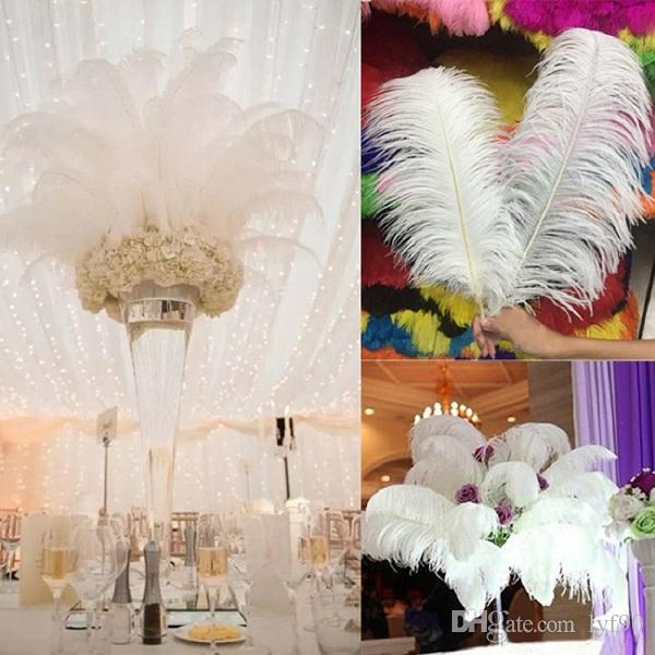 Home Decor Wholesale Suppliers: Nature Large Ostrich Feathers 12 14inch30 35cm For Home