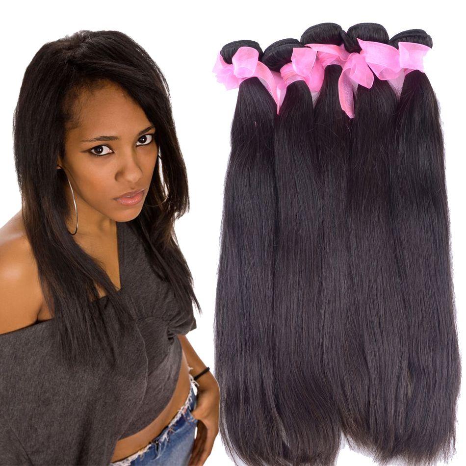 Queen Secret Brazilian Hair Weave Bundles Silk Straight 100 Virgin
