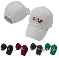 2517de26f2c Tyler The Creator Golf Hat Black Dad Hat Snapback Baseball Cap Wang Cross T  Shirt Earl Odd Future Casquette Bone Nostalgia Wave Hat Ny Cap Mens Caps  From ...