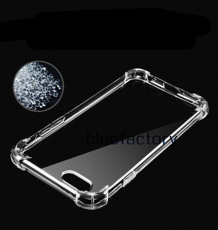 iphone X 8 Flexibilty Silicone trasparente TPU trasparente Caso anti-shock Copertura in gomma Gel Shell iphone 7 Samsung S8 plus Nota 8