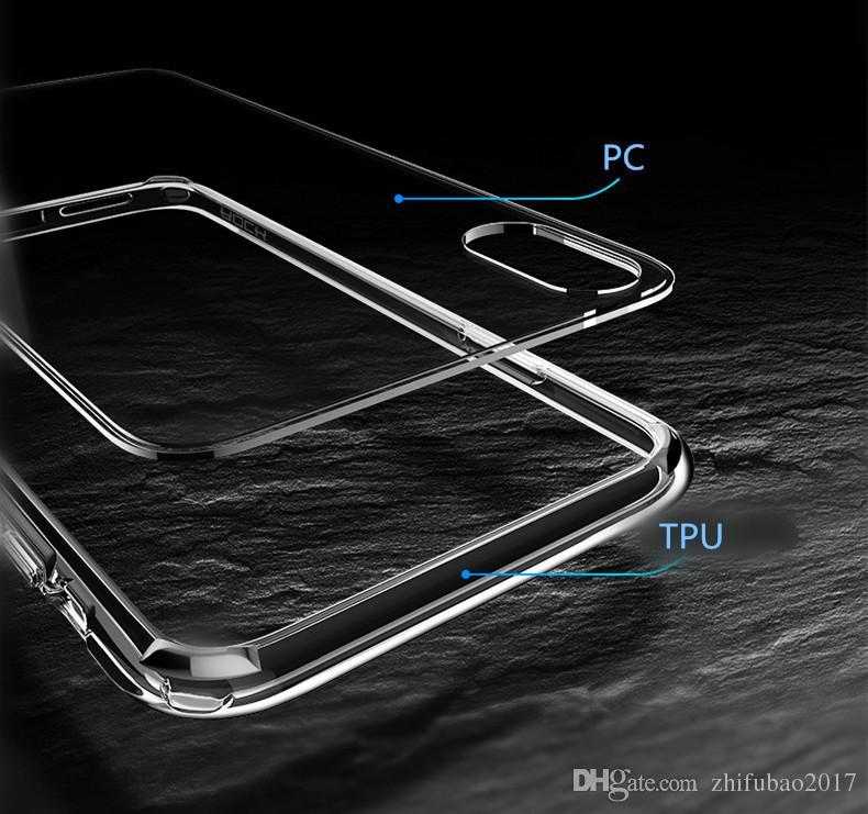 For iPhone X Phone Case Back Cover Case TPU Clear Shockproof Case Phone Protector for Iphone X