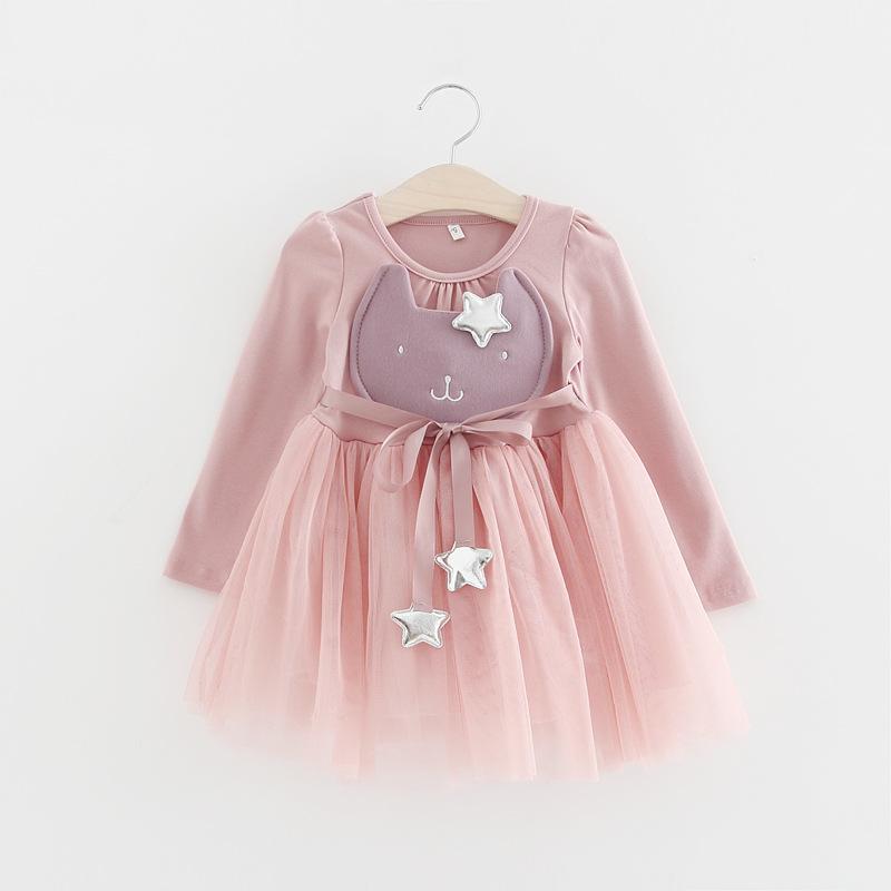 Compre Princesa Coreana Princesa Vestido Estrella Bowknot Cinturón ...