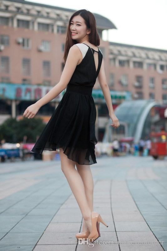 wholesaler factory price hot seller round nose OL high heel sweet color patent leather women sexy lady shoe119