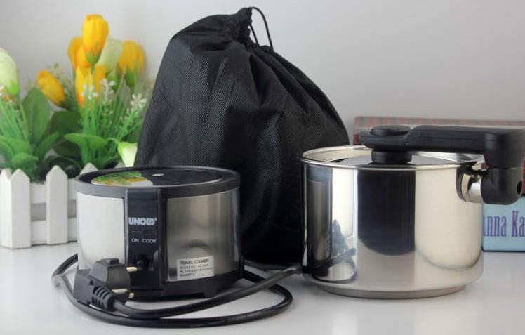 110 V / 220 V mini Voyage cuisinière électrique Portable Électrique Tasse dortoir marmite Petit Hot pot 450 W peut convertir manuellement tension 140 * 100MM