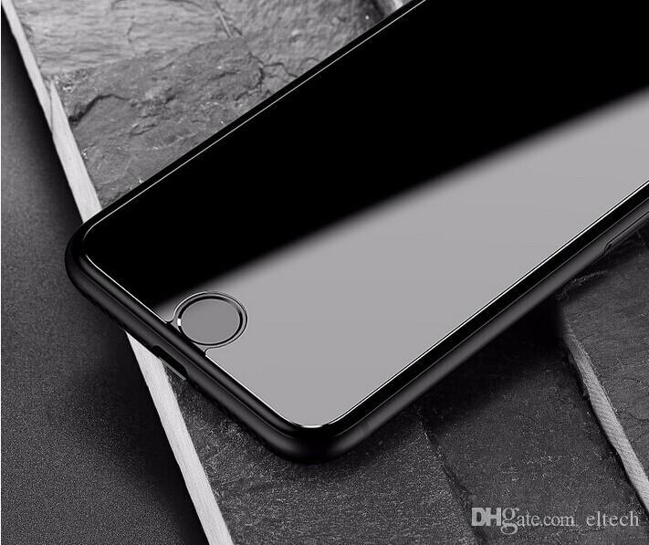 100 قطع الحرة شيب hd حامي الشاشة واضحة ل فون 7 زائد 0.26 ملليمتر 2.5d منحني حافة الزجاج المقسى فيلم واقية ل فون 7 6 6 ثانية زائد