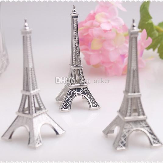 Delicieux Wedding Party Decoration Silver Eiffel Tower Place/Name Card/ Photo Holders  Silver Eiffel Tower Table Number Clip+Dhl Top Wedding Favours Unique And  Cheap ...