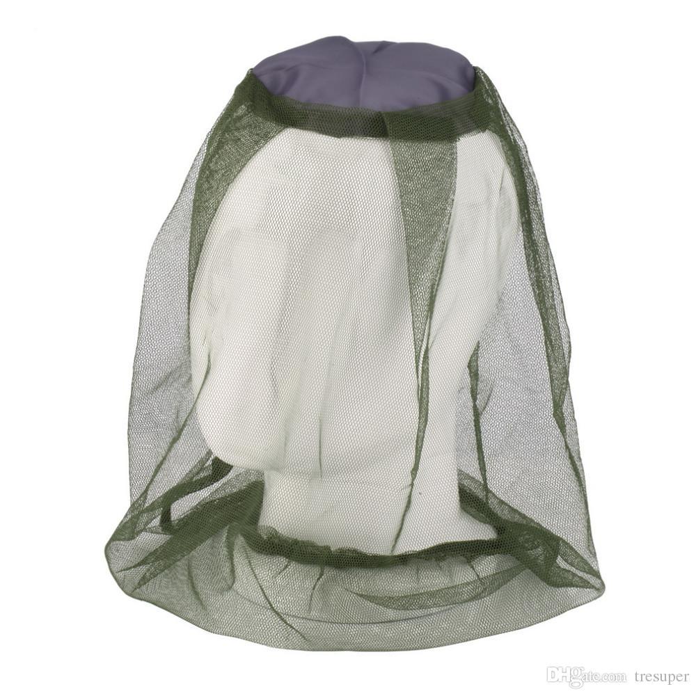 Москитная сетка от насекомых Шляпка от насекомых Сетка для головы Защитная маска для лица Кемпинг для путешествий