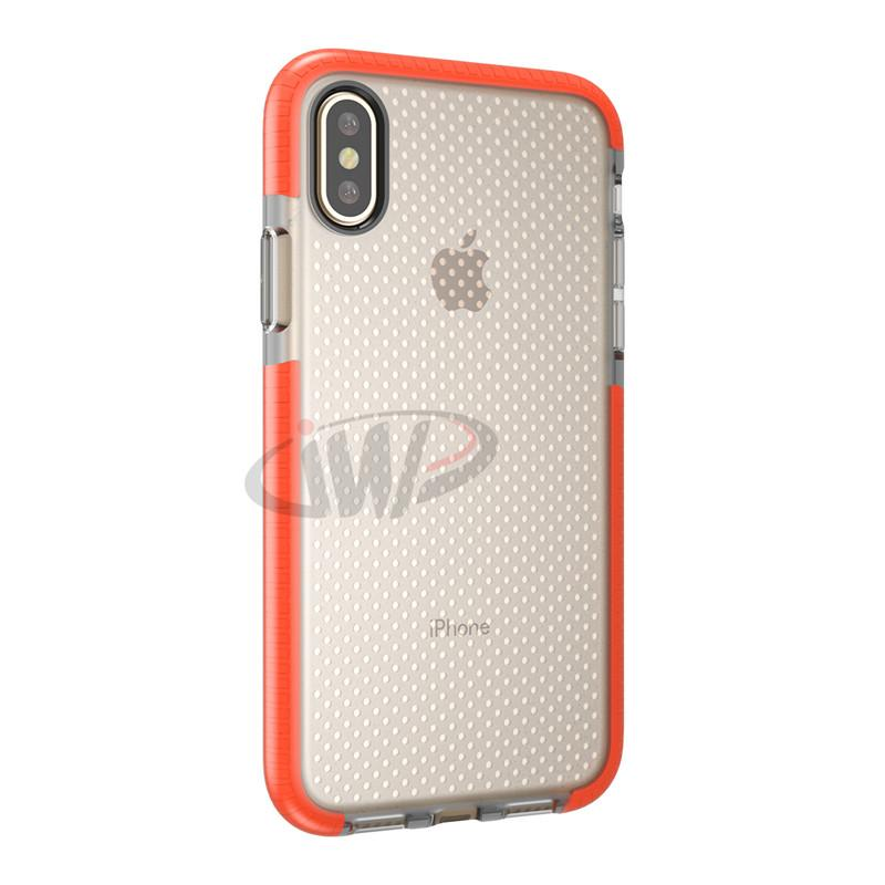 For iPhone X 8 10 Mesh EVO Soft TPU Case Gel Phone Back Cover Dot Shockproof Shell for iPhone8 iPhoneX Samsung Galaxy S9