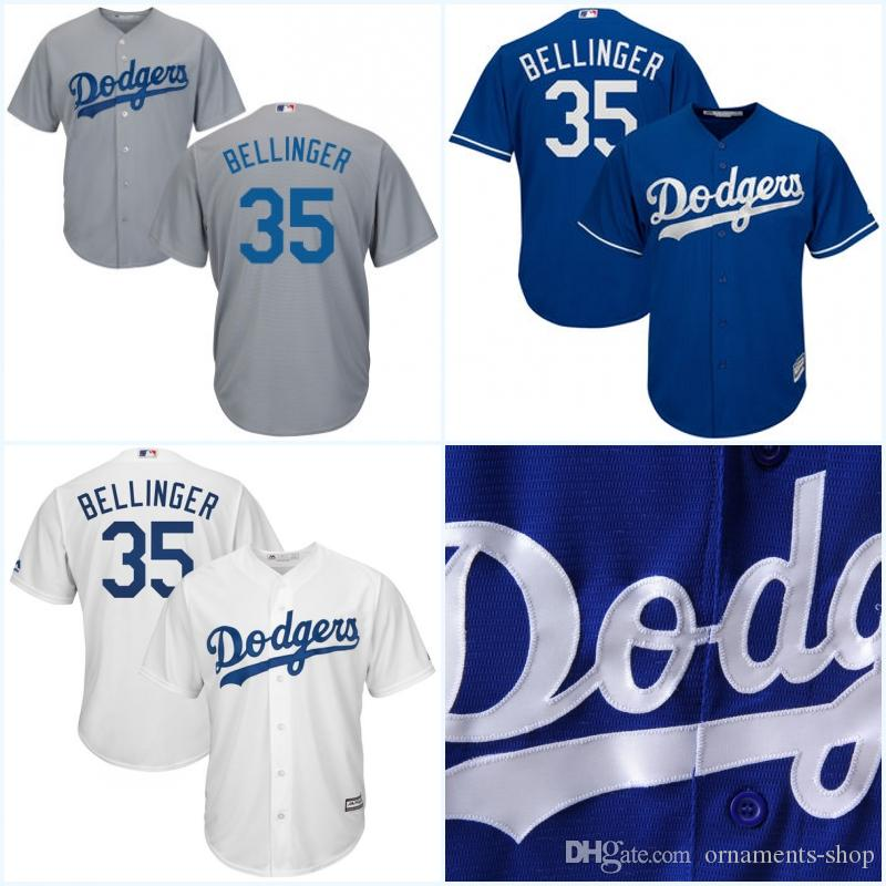 Youth 35 Cody Bellinger Jerseys Los Angeles Dodgers White Blue Grey  Stitched Embroidery ... a638b4195