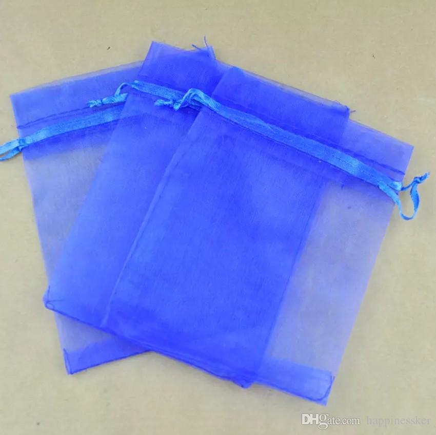Горячие Продажи!Многоцветный 100 шт. с Drawstring органзы подарочные пакеты марлевые конфеты сумки бесплатная доставка