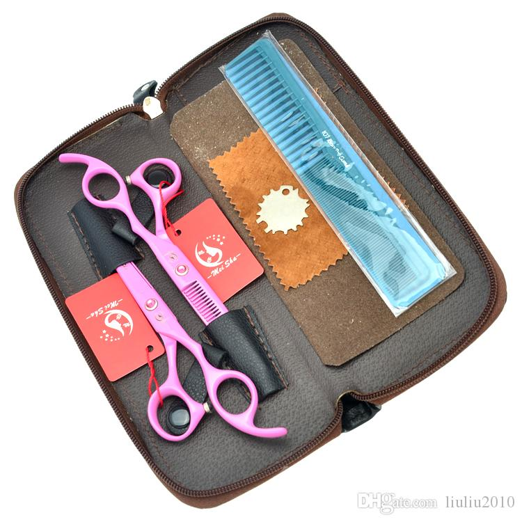 6.0Inch Meisha Salon Scissors Kits Hairdressing Scissors JP440C Hair Cutting Scissors & Thinning Shears for Styling Tool ,HA0219