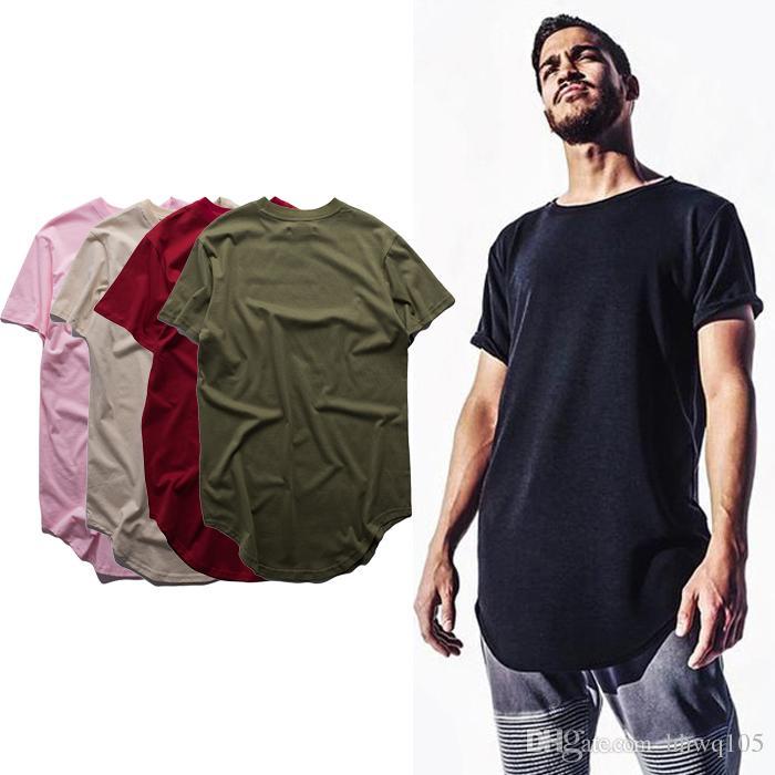 9b2a5a78146 Kanye West T Shirt Men S Short Sleeve Long T Shirts Summer Basically Plain  Tees Hip Hop Urban Clothes Justin Bieber Streetwear OSG1001 Funky T Shirts  For ...