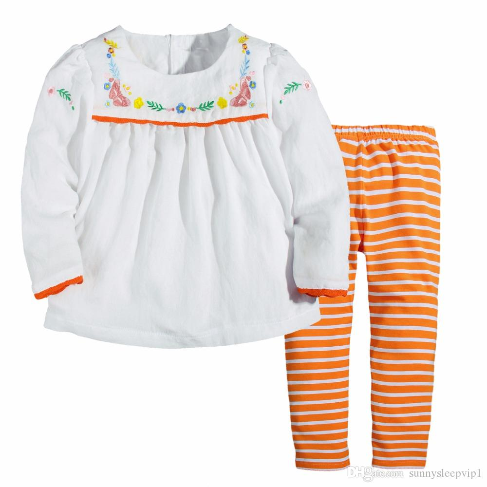 1501262a 2019 Baby Girls Sets 100% Cotton Long Sleeve Tops +Pants 2017 Brand Spring  Autumn Children Clothing Sets Girls Clothes Kids Outfits From  Sunnysleepvip1, ...