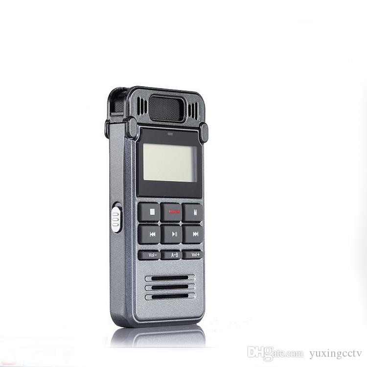 8GB Noise Reduction High-definition Digital Audio Voice Recorder Dictaphone Telephone Recording with LCD Display MP3 Playe
