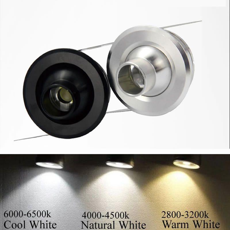 Mini Ceiling Lamp 3w Led Downlight Spot Cabinet Light Display