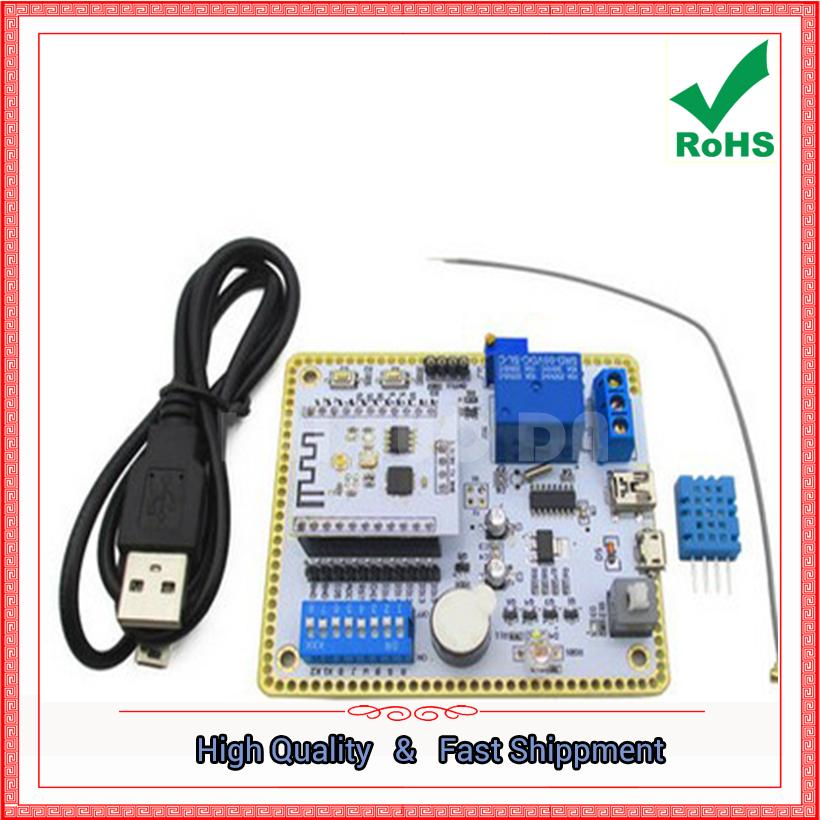 Free Shipping 1pcs ESP8266 serial port wifi module ESP8266 wireless  development board SDK development (D4B4)