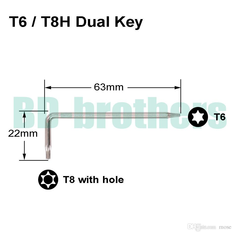 7 in 1 Gamebit Set con cacciavite di sicurezza 2.5 Tri Tri Wing 3.8 4.5 kit di attrezzi di commutazione / lotto