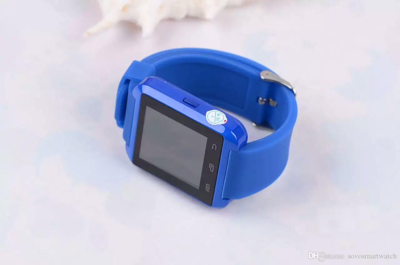 U8 A1 DZ09 GT08 Bluetooth Smart Watches Compatible iPhone 6 6s Samsung S4 S5 Note 2 Note 3 Android Phone