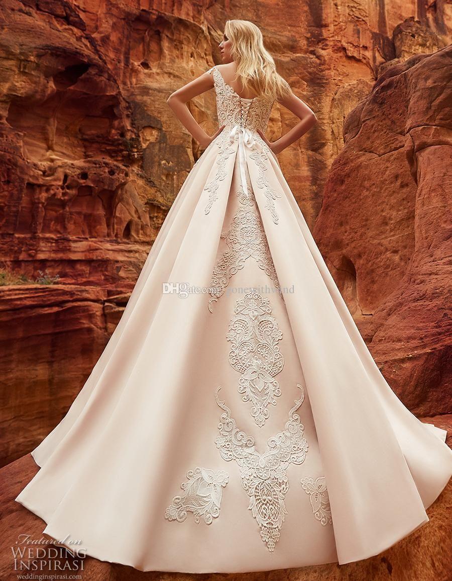 Großhandel Arabische Dubai Prinzessin Brautkleider 2018 Oksana Mukha ...