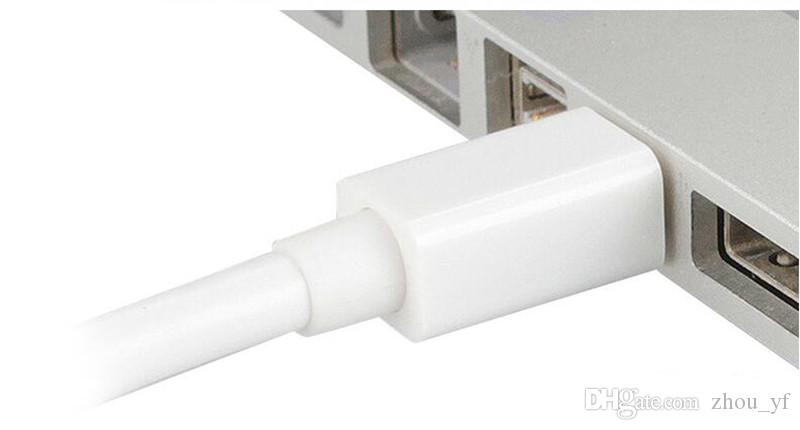 Livraison gratuite Haute Qualité Thunderbolt Mini DisplayPort Display Port DP vers HDMI Adaptateur Câble Pour Apple Mac Macbook Pro Air