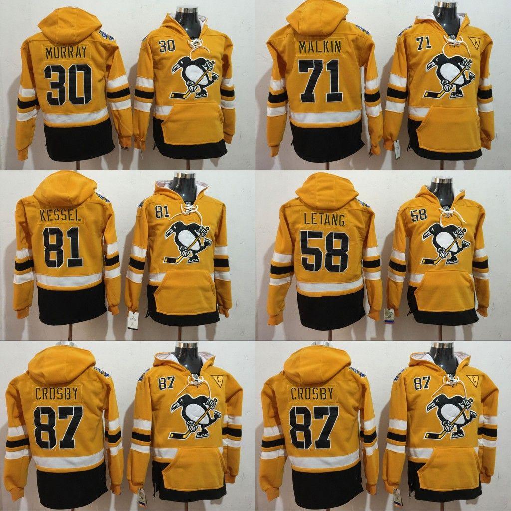 2019 Pittsburgh Penguins 87 Sidney Crosby Evgeni Malkin Kris Letang Matt  Murray Kessel Evgeni Malkin Hoodies Jersey From B2bcn a6d37bb81
