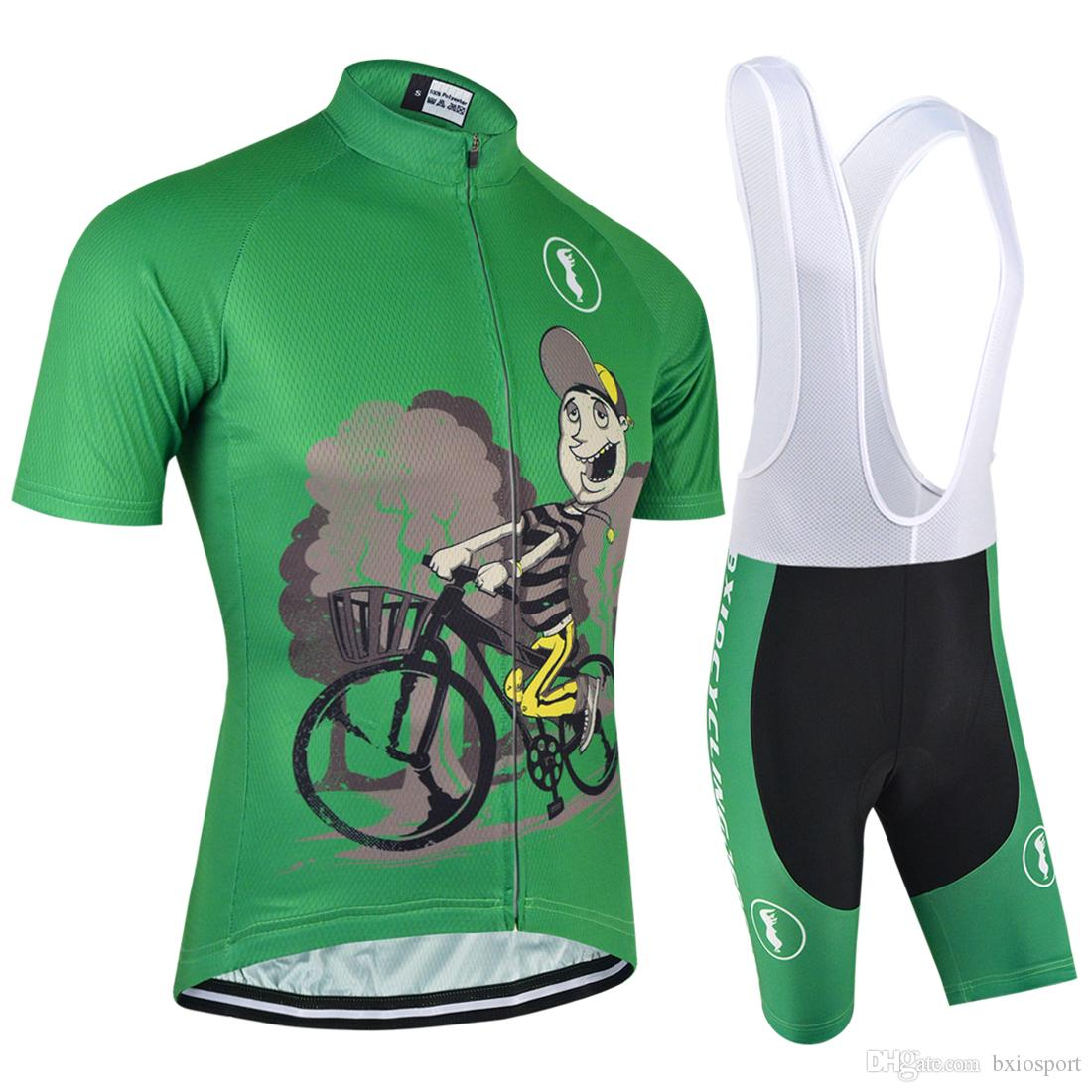 BXIO New Arrival Men Cycling Jerseys Dark Green Bikes Clothes Quick Dry Bicycle  Clothes Bike Sport Wear Clothing MTB Cycle Jerseys BX-020 Cycling Clothes  ... 6bf833f32